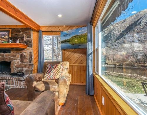 Photo of Provo Riverside Cabin #1 - Provo Canyon - Private Hot Tub - Rent all 3 Cabins