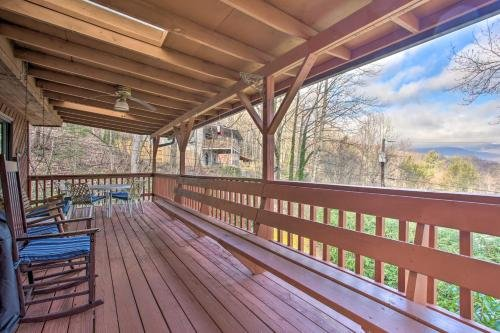 Photo of Spacious Cottage with Fireplace and Smoky Mtn View!