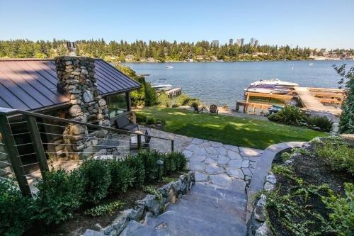 Photo of Little Log Cabin on Lake Washington