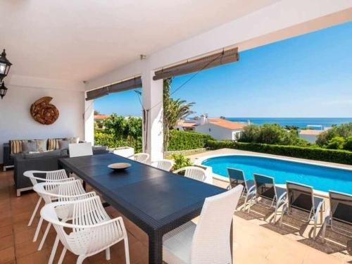 Photo of VILLA BINI VENT Fabulosas vistas al mar cerca de la playa de Binibeca