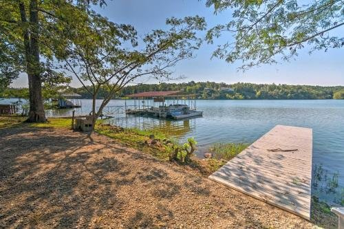 Photo of Waterfront Home with Dock about 9 Miles to Hot Springs!