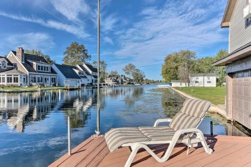 Photo of Waterfront Syracuse Home with Deck, Fire Pit and Kayaks