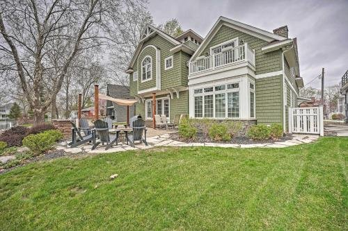 Photo of Large Lake Wawasee Home with Waterfront Oasis