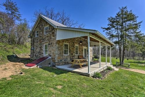 Photo of Idyllic Hellertown Cottage Patio and Fire Pit!