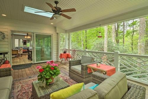 Photo of Highlands Cottage with Sunroom 1 Mi to Dtwn!