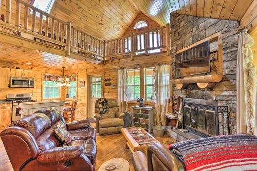 Photo of Cozy Blakely Cabin with Porch and Valley Views!