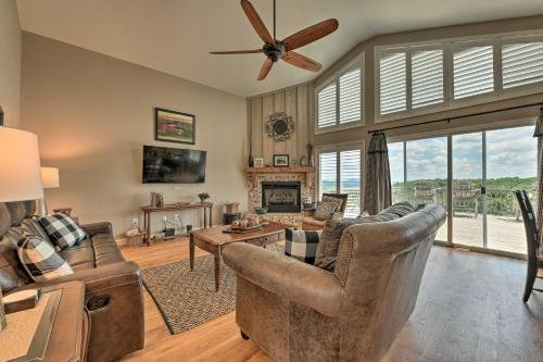 Photo of Roaring Gap Home with Pool Access and Mtn Views!