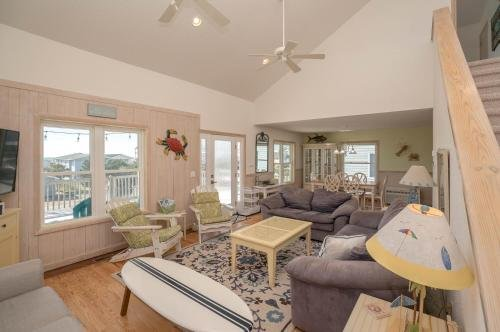 Photo of 4 BR beach home on 3rd row with breathtaking views from every bedroom balcony awaits!
