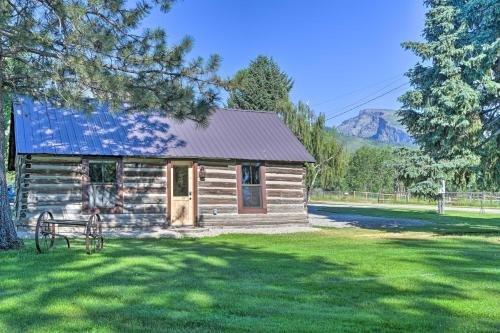 Photo of A Cowboys Dream Original Hamilton Log Cabin