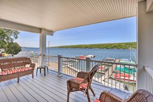 Photo of Lakefront Apt with Dock Steps to Dine and Swim!