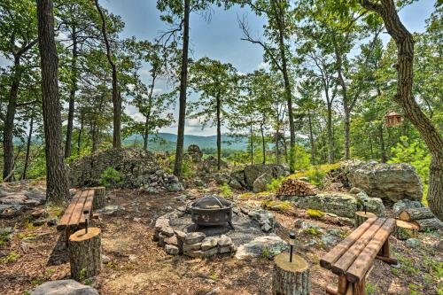 Photo of Upscale Wardensville Cabin with Deck and Hot Tub