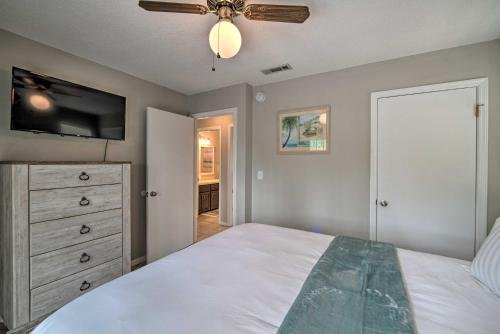 Photo of Breezy St George Island House with Private Dock
