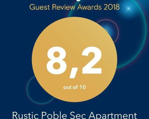 Rustic Poble Sec Apartment - фото 16