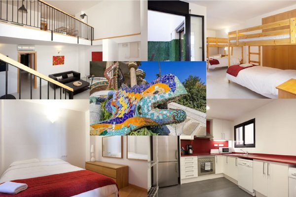 Large Guell Apartments - фото 21