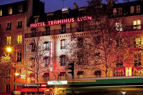 Hotel Terminus Lyon - фото 6