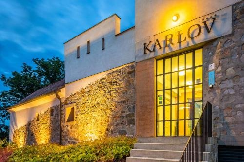 Bellevue hotel Karlov - фото 22