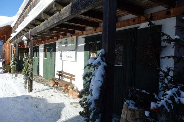 Bauernhof Allimann - Sportlerhof UaB - фото 15