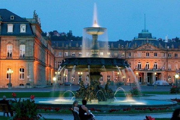 Stuttgart Marriott Hotel Sindelfingen - фото 21