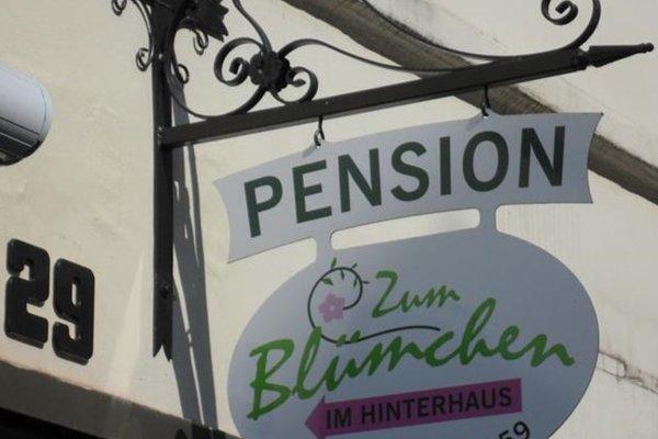Pension Zum Blumchen - фото 13