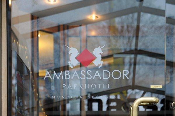 Ambassador Parkhotel - фото 20