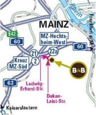 B&B Hotel Mainz-Hechtsheim - фото 5