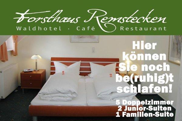Waldhotel Forsthaus Remstecken - фото 7