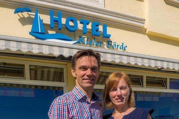 Hotel Kieler Forde - фото 14
