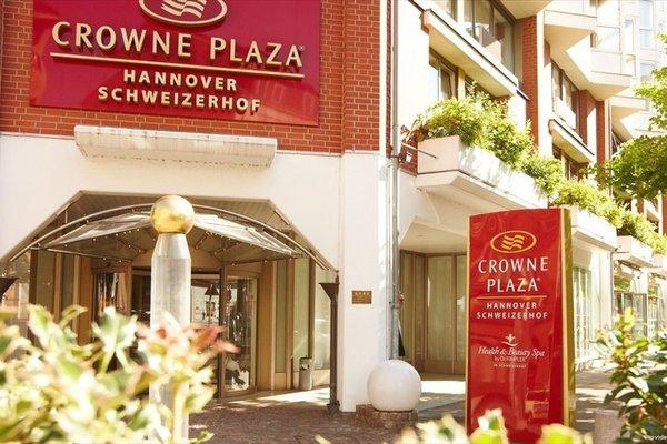 Crowne Plaza Hannover Schweizerhof - фото 18