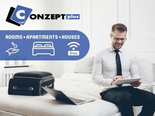 CONZEPTplus Private Rooms Hannover City - room agency - фото 10