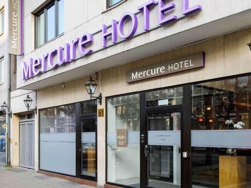 Mercure Hotel Dusseldorf Zentrum - фото 20