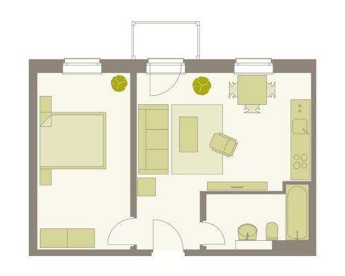 Aparthotel am Zwinger - фото 19