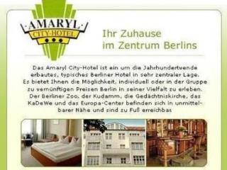 Amaryl City-Hotel - фото 13