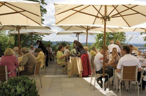 Hotel Cafe Bergschlosschen - фото 7