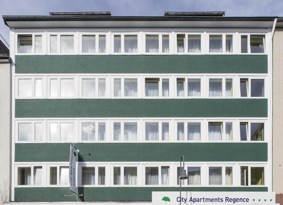 City Apartments Regence - фото 11