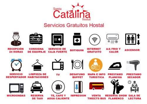 Hostal Santa Catalina - фото 18