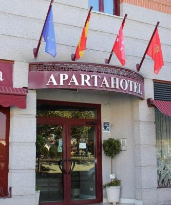 Apartahotel Villa de Parla - фото 17