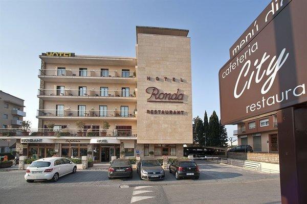 Hotel Restaurant Ronda Figueres - фото 22
