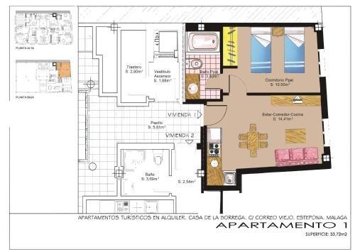 Apartamentos Turisticos Casa de La Borrega - фото 17