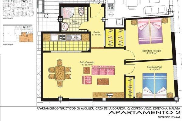 Apartamentos Turisticos Casa de La Borrega - фото 18