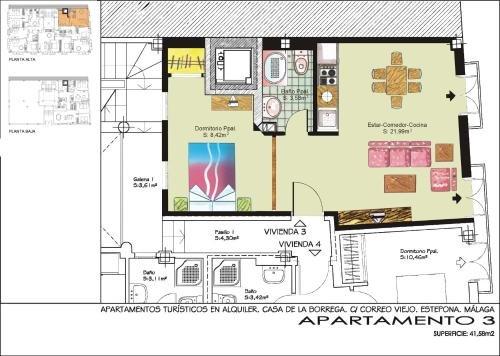 Apartamentos Turisticos Casa de La Borrega - фото 19