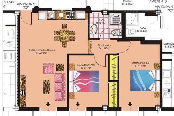 Apartamentos Turisticos Casa de La Borrega - фото 5