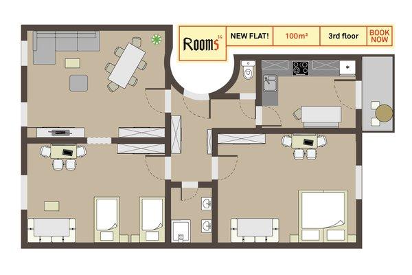 S14 - Rooms & Apartments - фото 17