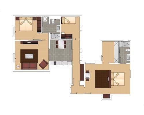 Fisa Rentals Gran Via Apartments - фото 21