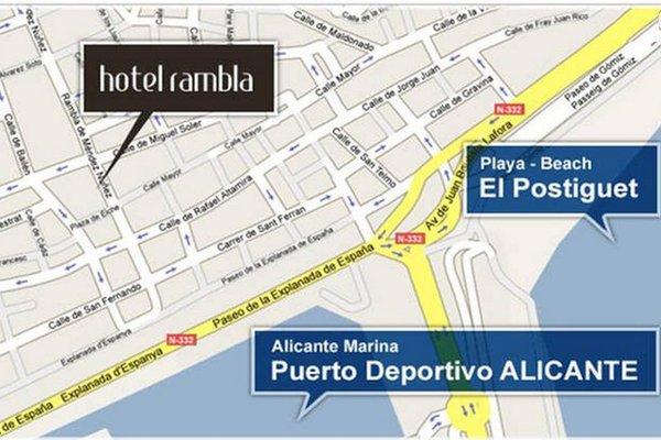 Hotel Rambla Alicante - фото 13