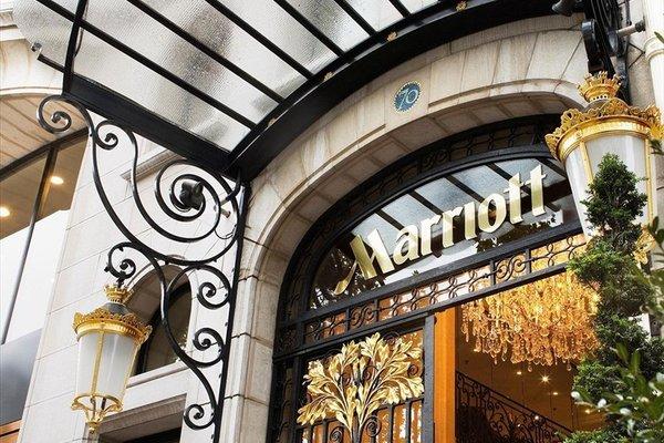 Paris Marriott Champs Elysees Hotel - фото 8
