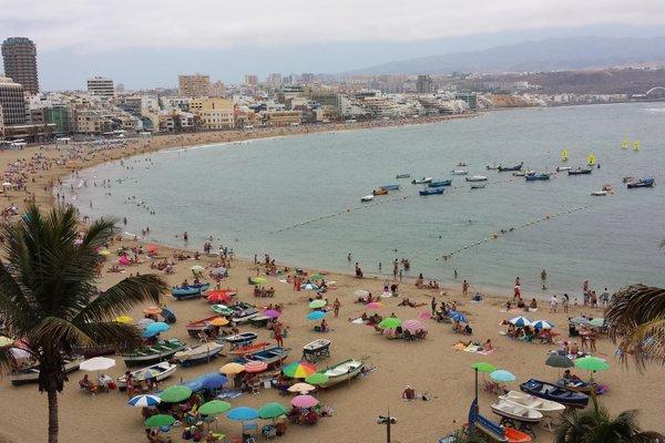 Apartamento Playa de Las Canteras Lascan01 - фото 2