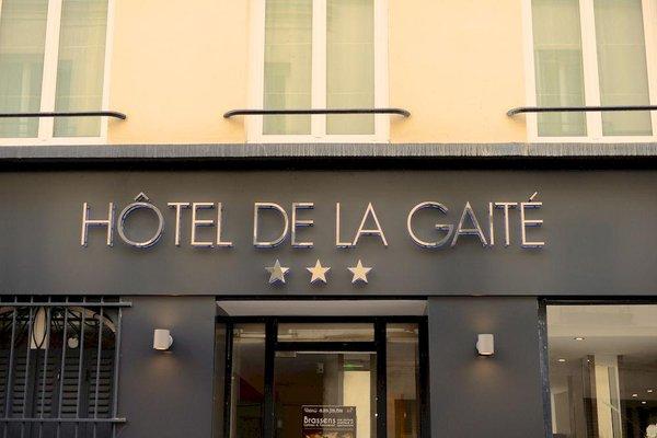 Hotel de la Gaite - фото 23