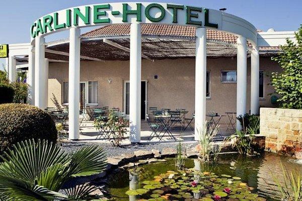 Logis Carline Hotel Restaurant - фото 19