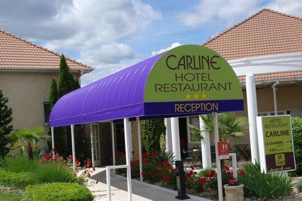 Logis Carline Hotel Restaurant - фото 20