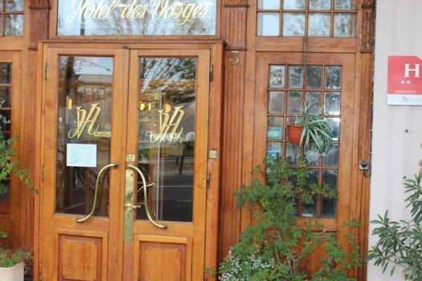 Hotel des Vosges - фото 23
